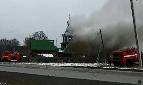 Шестеро детей пострадали при пожаре в церкви в Челябинской области