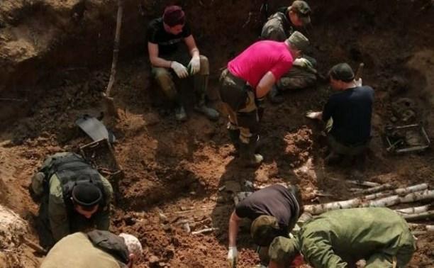В массовом захоронении в Тульской области найдены бойцы 116-й отдельной морской стрелковой бригады