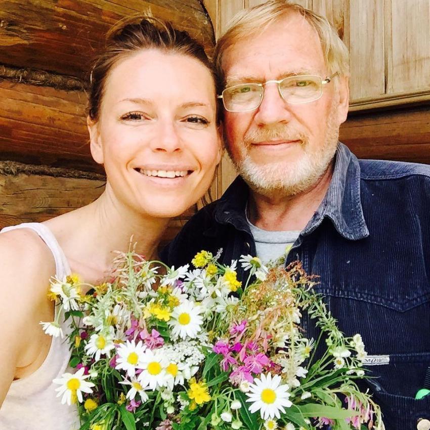 Актриса Любовь Толкалина трогательно поздравила отца с днем рождения