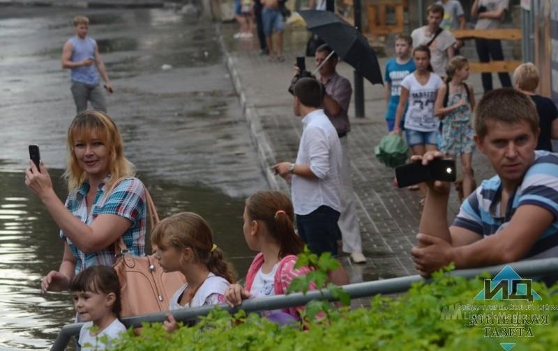 Пасмурно и дождливо в Липецке 10 мая