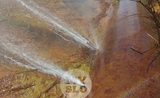 Множественный порыв водопровода в деревне под Тулой устранен