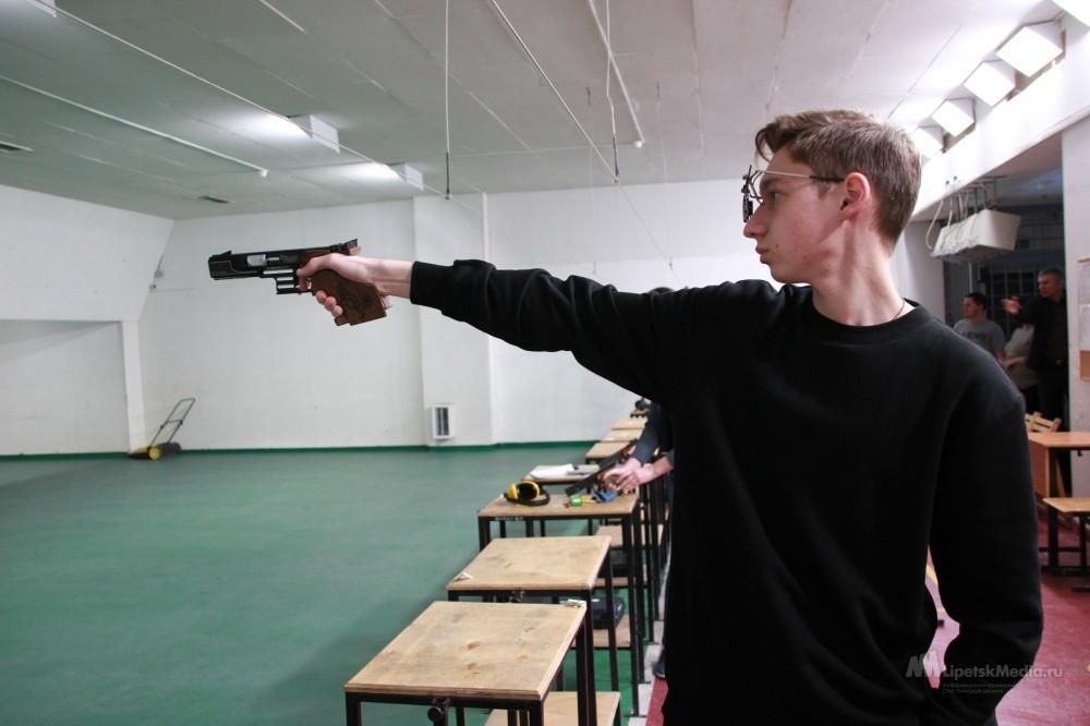 Стрелки из Липецкой области выиграли первенство России