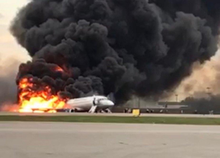 СК возбудил дело о смерти двух и более лиц после аварии с самолетом в «Шереметьево»