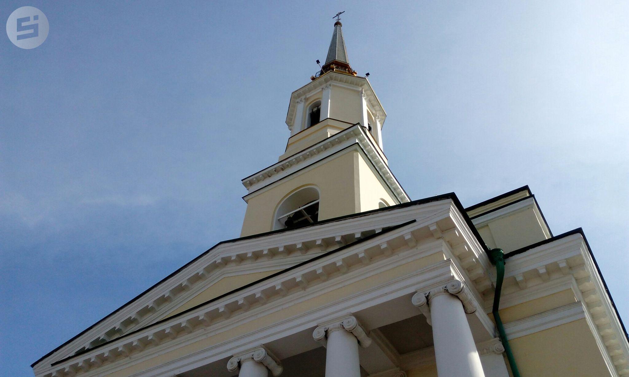 Журналисты «Сусанина» взобрались на колокольню Александро-Невского собора в Ижевске