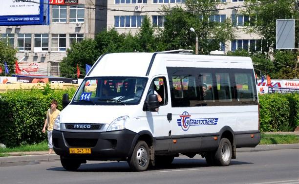 В Щекино судебный пристав спас юного пассажира маршрутки