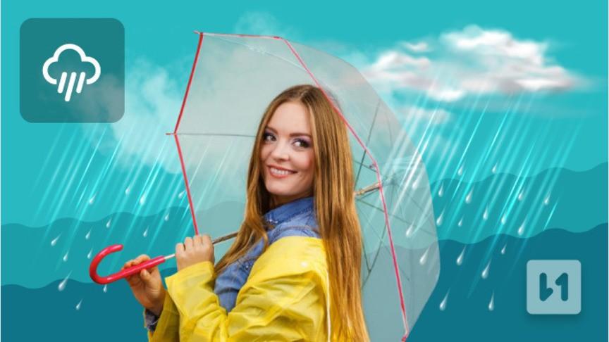Пятница будет пасмурной. На территории Кировской области метеорологи обещают дожди