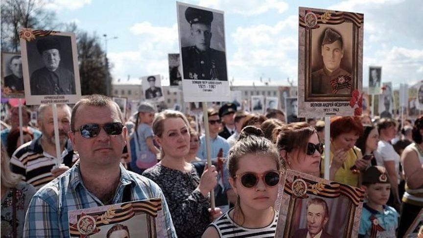 Кировчане пронесли портреты своих близких в Бессмертном полку
