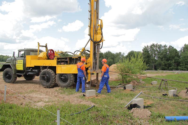 Бурение артезианской скважины в Московской области