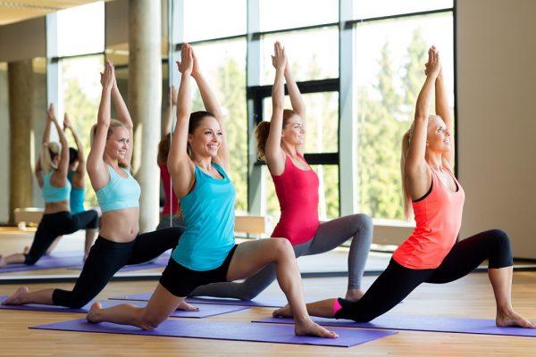 Индивидуальные и групповые занятия фитнес йогой